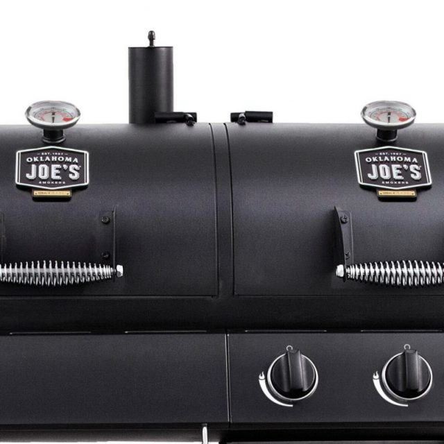 Char Broil Charcoal and Gas Combo Smoker