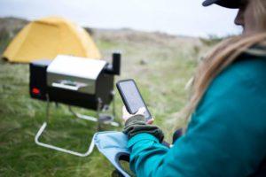 Green Mountain Davy Crockett WiFi Portable Pellet Grill