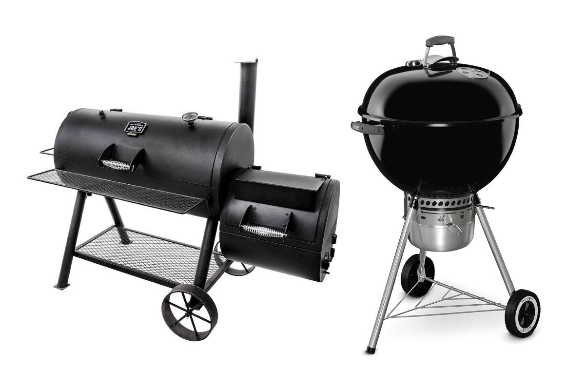 offset smoker vs kettle